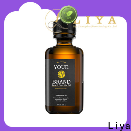 Liya reliable top beard oils wholesale for beard care