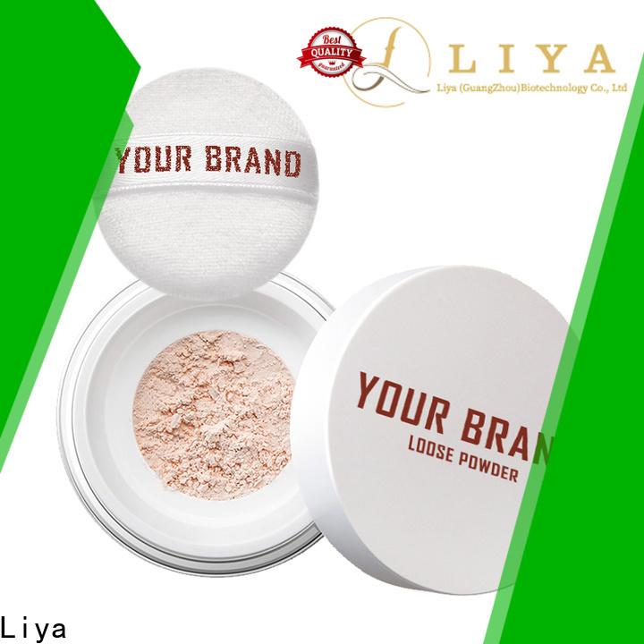 Liya Best loose powder supplier for make up