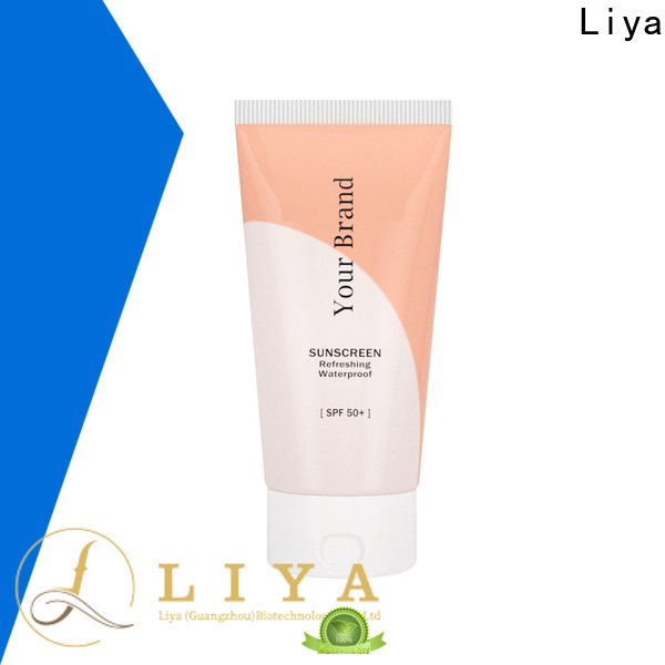 Liya sunscreen lotion supplier for face care