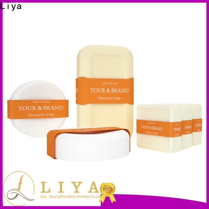 Liya solid shampoo bar manufacturer for hair cleaning