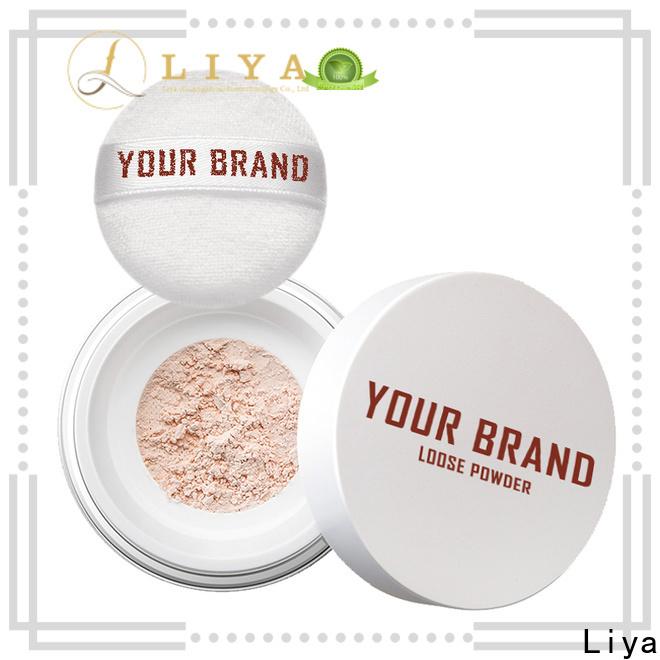 Liya loose powder vendor for oil control of face