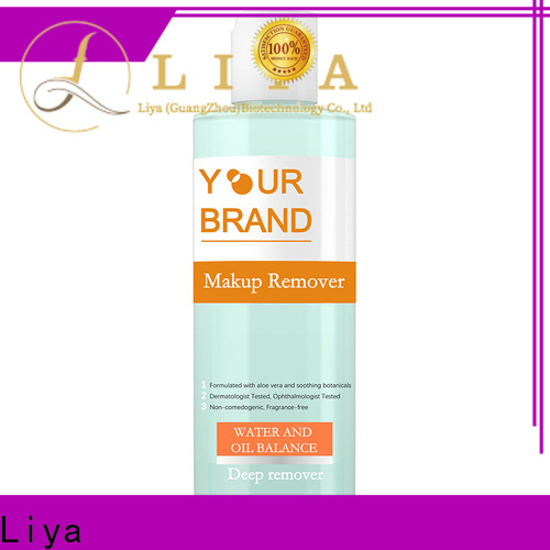 OEM water makeup remover for removing makeup
