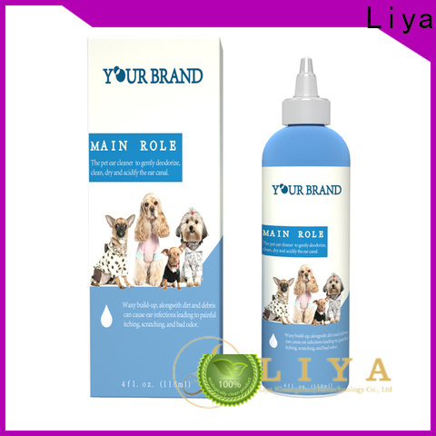 Liya puppy shampoo factory for pet grooming