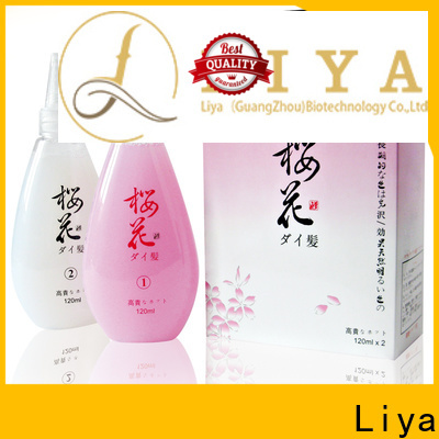 Liya best perming lotion vendor for hair treatment