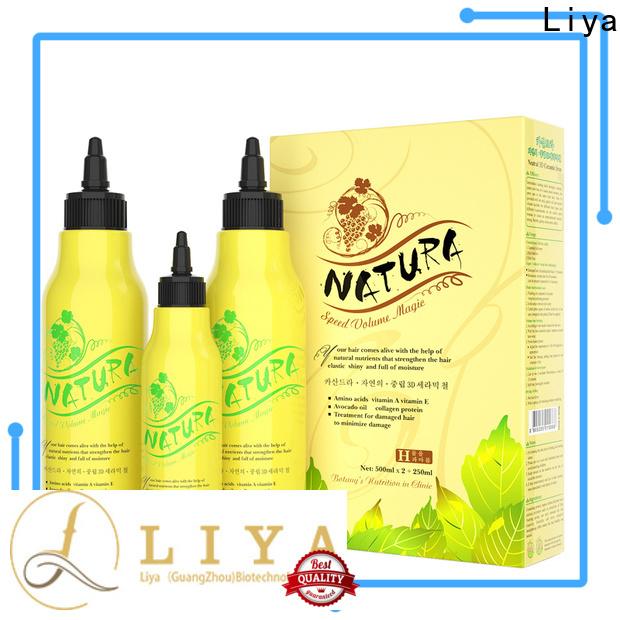 Liya perm lotions supplier for hair treatment