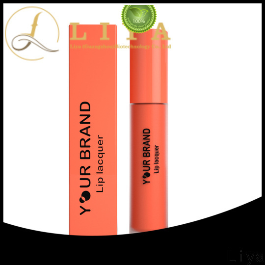 Liya professional lip cosmetics manufacturer for make up