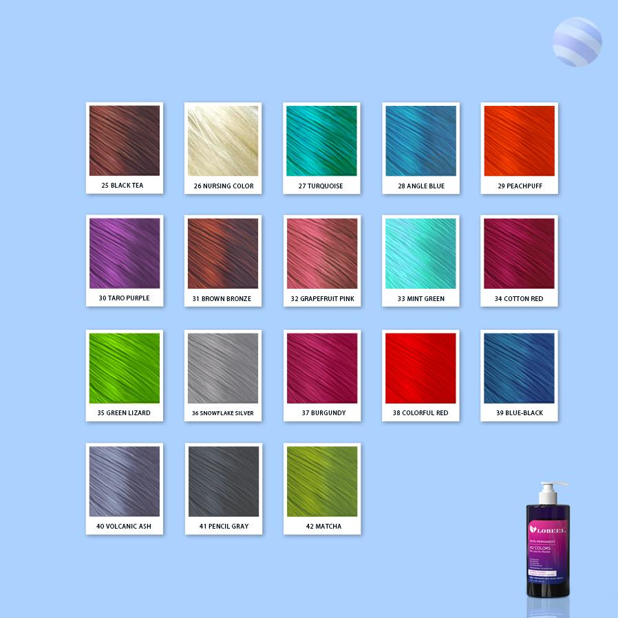 Factory Price Semi-permanent Hair Dye Wholesale