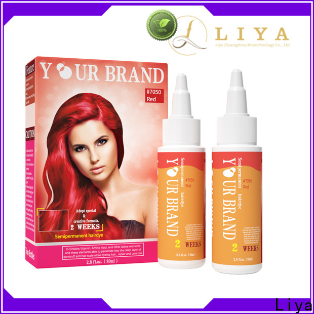 Liya Bulk Temporary hair color distributor for hair salon