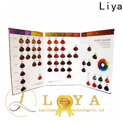 OEM color charts for hair supplier for hair salon