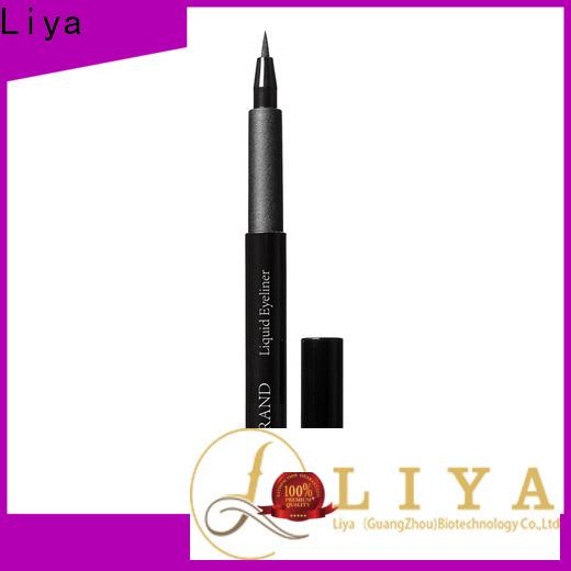 Liya Custom waterproof eyeliner wholesale for make beauty