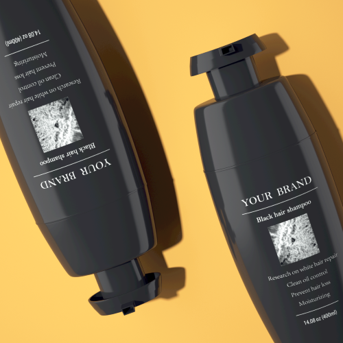 Convenient Dye hair at home Natural black plant health cover gray hair