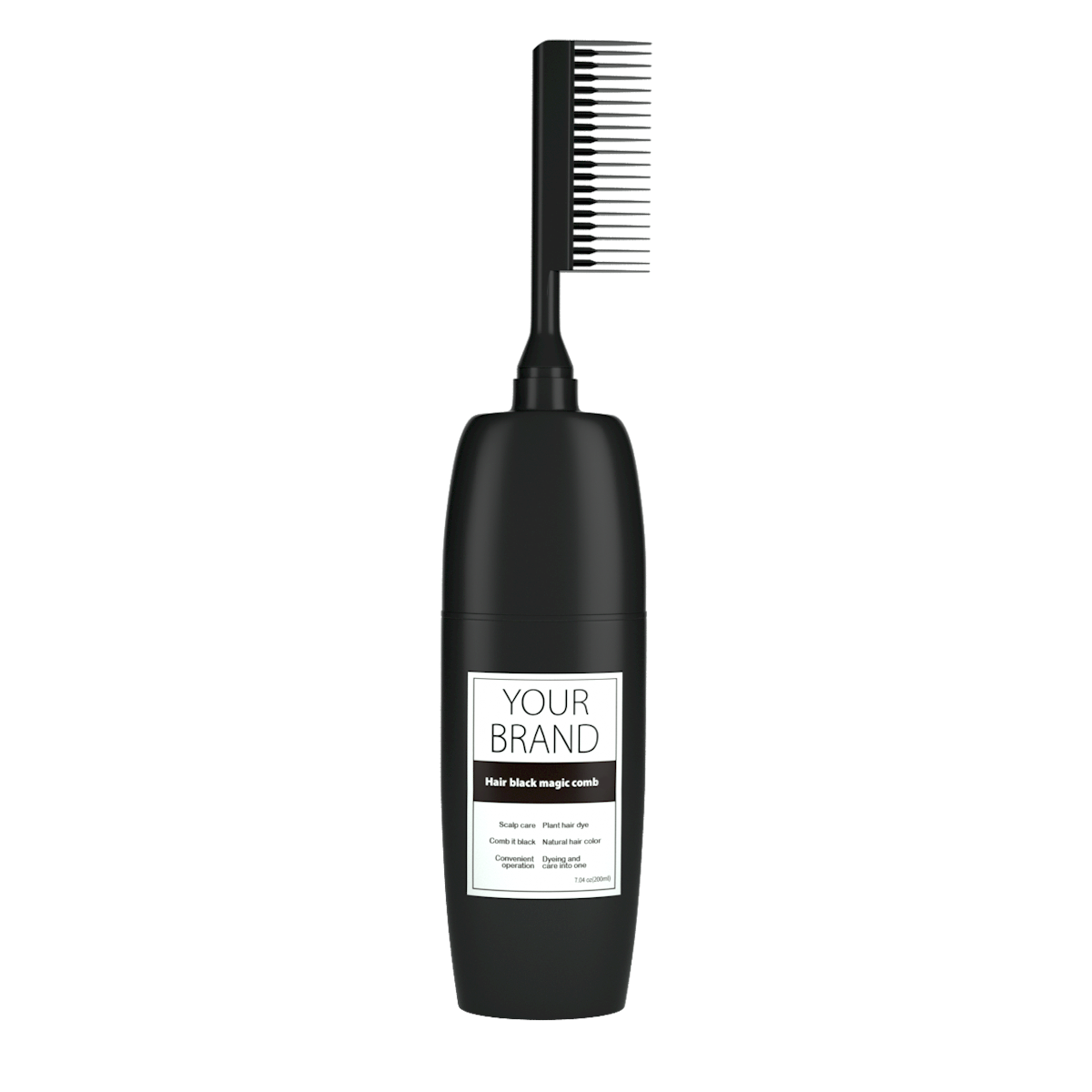 Professional Salon Permanent Hair Color Cream Harmless The Black Magic Combs Hair Color Hair Dye