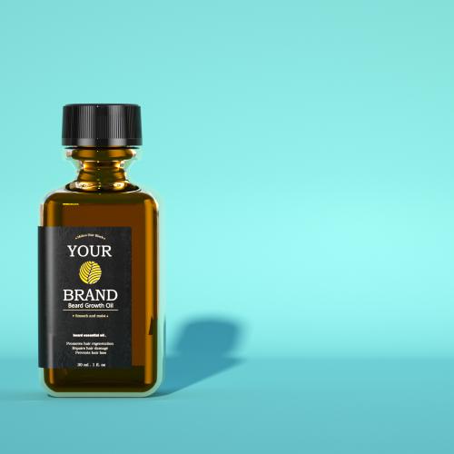 100% Natural Beard Growth Oil for Beard Growth Spray For Men beard