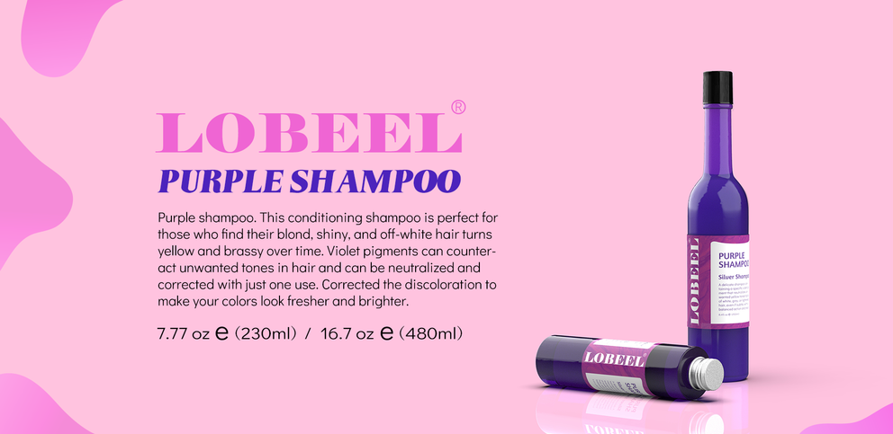 Hairdressing: Purple Shampoo - Easily get rid of the yellow pigment in the hair!