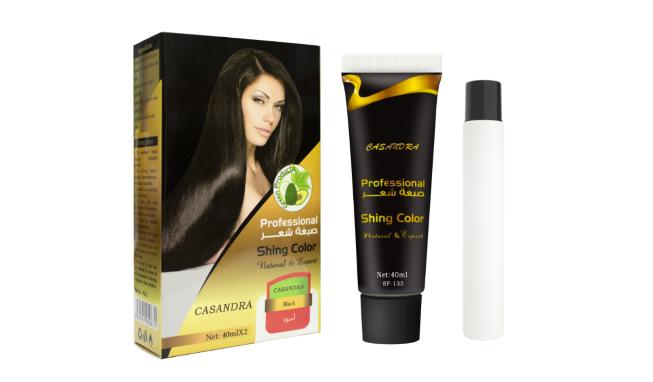 Hairdressing: Ammonia Free Hair Dye Hair Coloring Cream Permanent