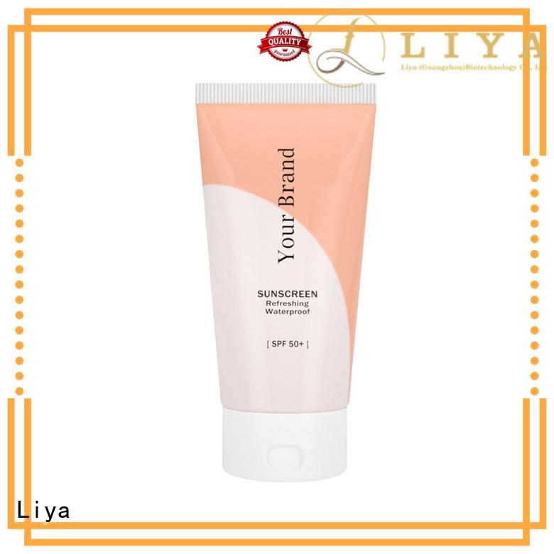 Liya sunblock lotion face care