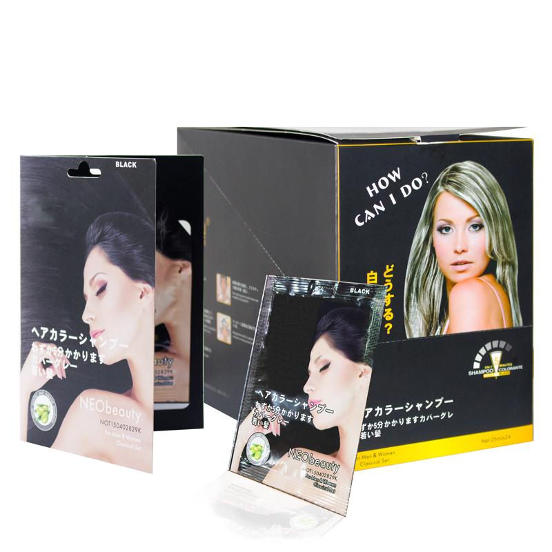 Ammonia Free Nourishing Noni Argan Oil 5 Minutes No Skin Stains Keratin Black Hair Shampoo
