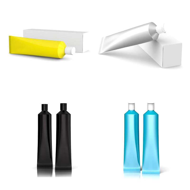Aluminum Tubes Packaging, Aluminum Cosmetic Cream Packaging Collapsible Tube
