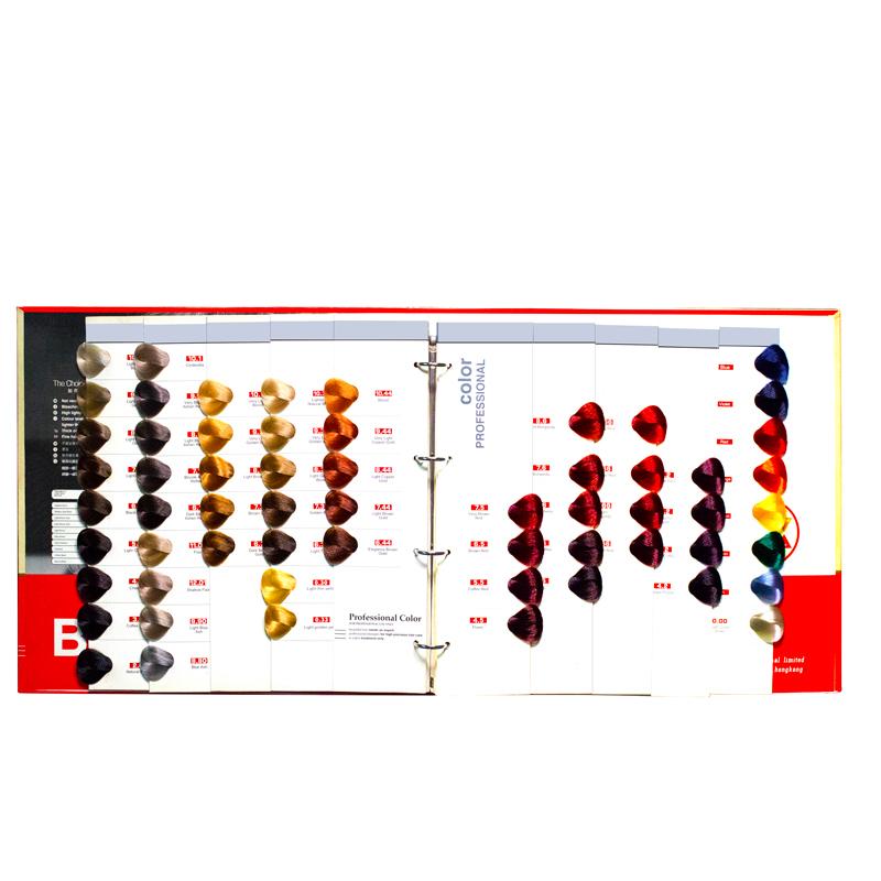 Fashion Color CatalogueHairColor Chartfor HairColor Cream HairDye
