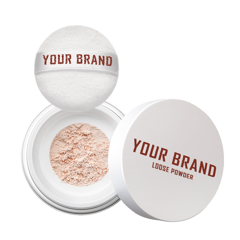 Make Up Setting Highlight Loose Face Powder Private Label