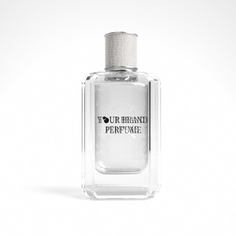 Glass Bottle Rose Love Floral Women Rose Perfume