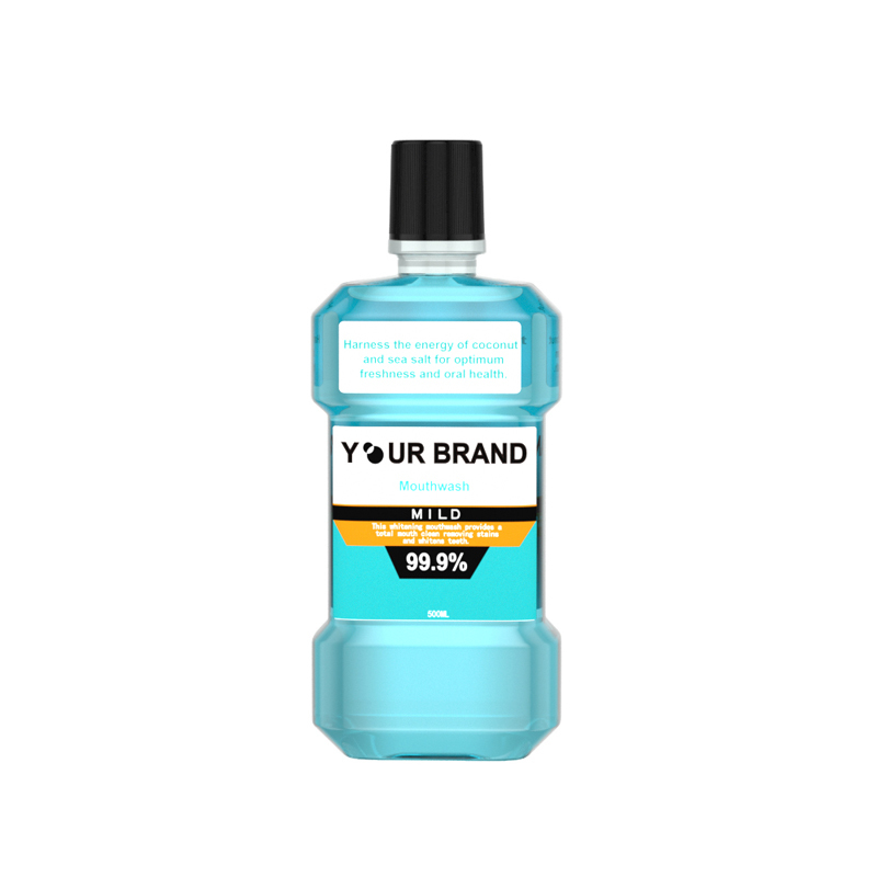 Natural FDA CE Approved,Teeth Whitening Fluoride-Free Alcohol-free Adult Mouth Wash Mint Mouthwash