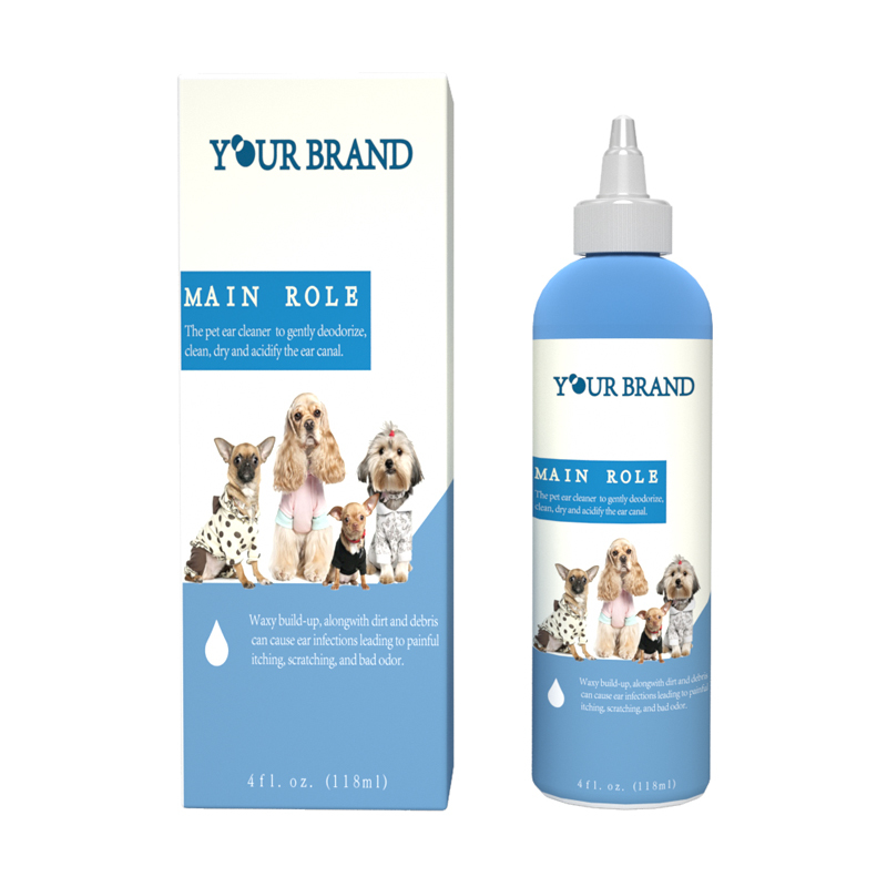 Pet Care Cleaner Ear Cleaning Solution Eco-Friendly Dog Ear Cleaner For Pet