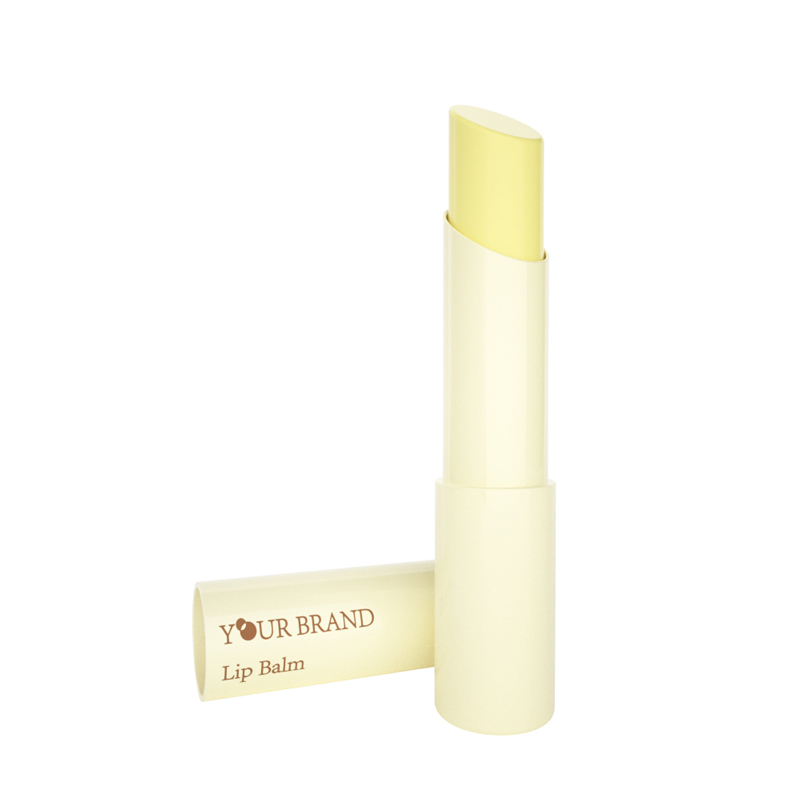Cosmetic Olive Oil Beeswax Care Custom Mini Natural Ingredient Lip Balm