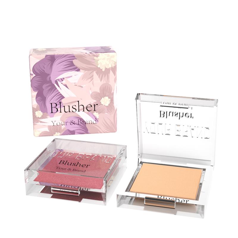 Natural Blusher Cream Long Lasting Moisturizing Brightening Rose Blusher Stick Blusher Powder