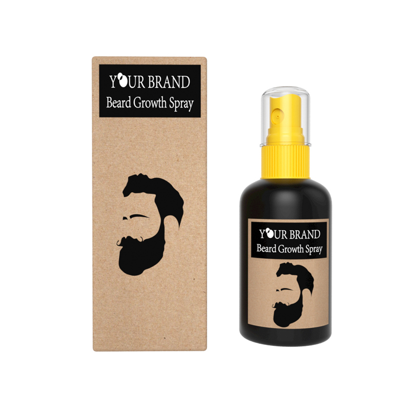 100% Natural Beard Growth Oil for Beard Growth Spray For Men beard