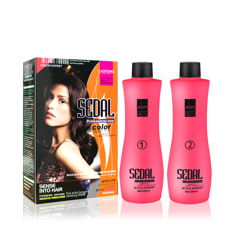 2 in 1 Professional Permanent collagen Hair Straightening Cream