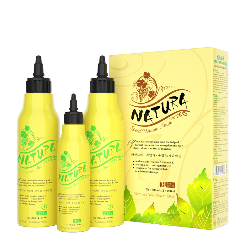 OEM ODM Private Label Naturally Curly Hair Perm For Damaged Hair