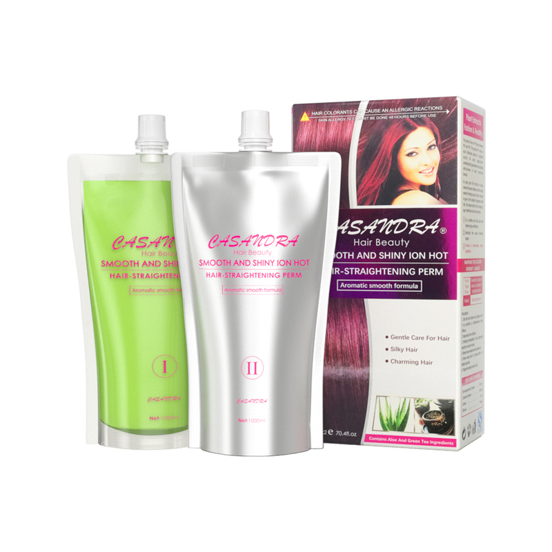 Effective tending composition Natural Hair Straightening Perm Cream