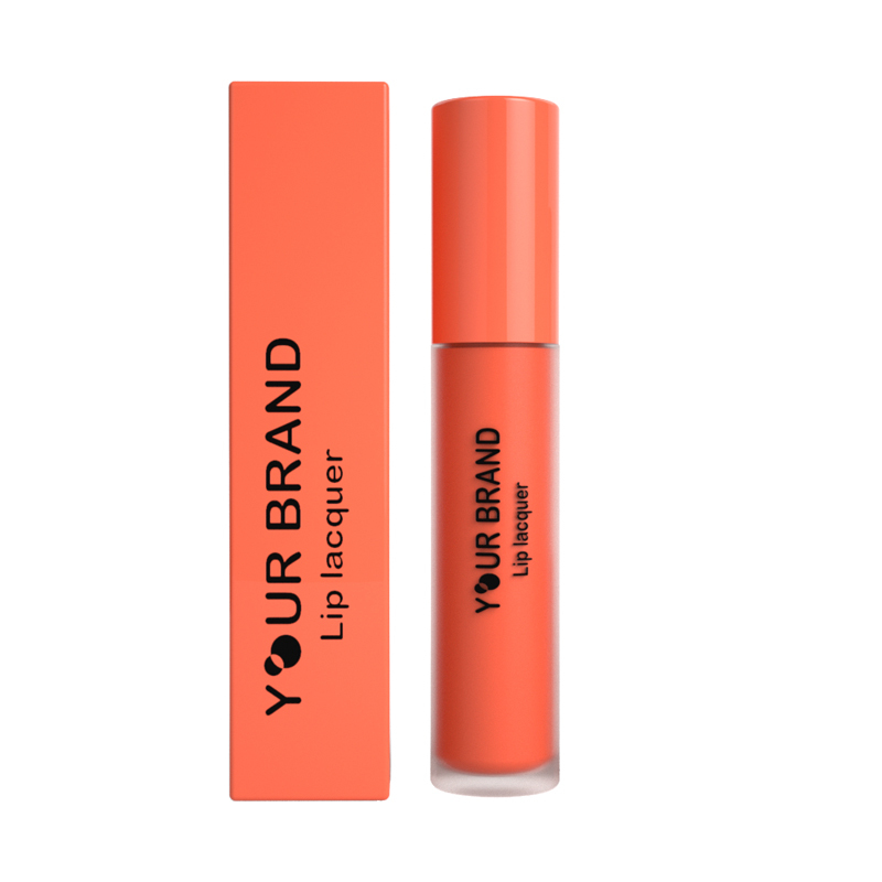 OEM ODM Low MOQ High Quality Matte Nude Lipstick Slip Warm Makeup Glossy Lip Tint Shiny Lip GlossLip Lacquer Manufacturer
