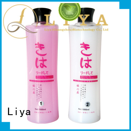 Liya customized perm lotion widely used for hairdressing
