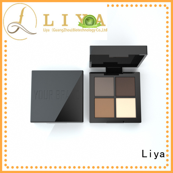 Liya easy to use eyebrow pencil make beauty