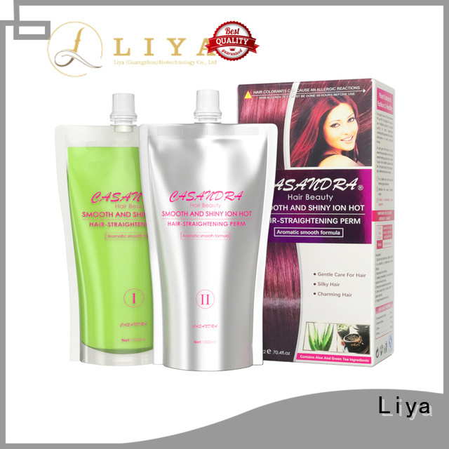 Liya economical curly hair products widely used for hair treatment