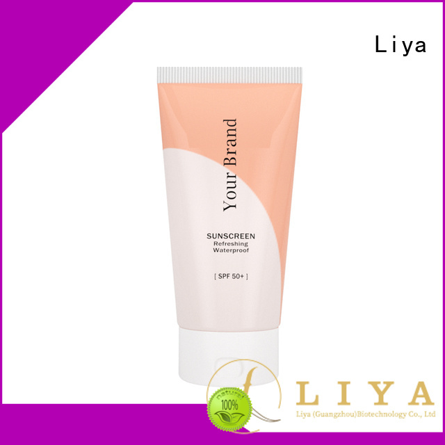 Liya good quality sunscreen cream nice user experience for face care