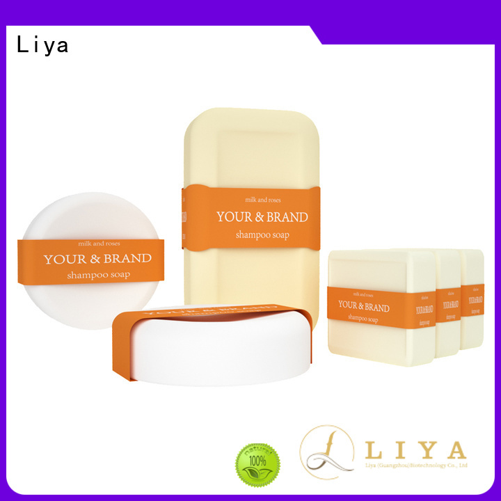 Liya economical solid shampoo bar perfect for hair cleaning