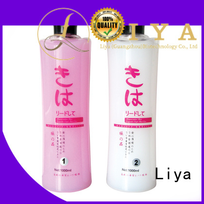 Liya economical perm lotion excellent for hairdressing
