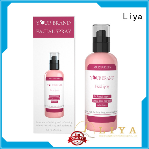 Liya easy to use hydrating face spray needed for skin care