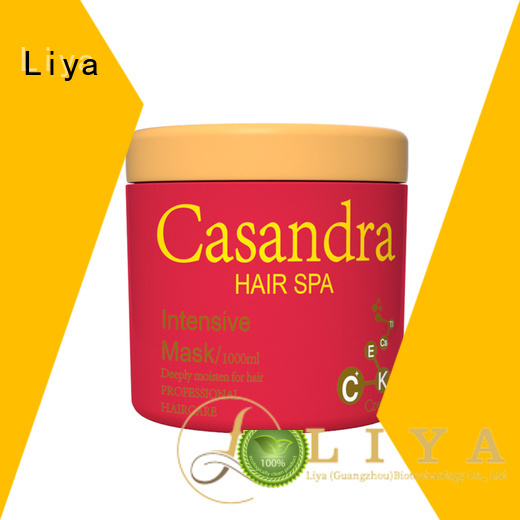 Liya economic best hair mask for damaged hair hairdressing