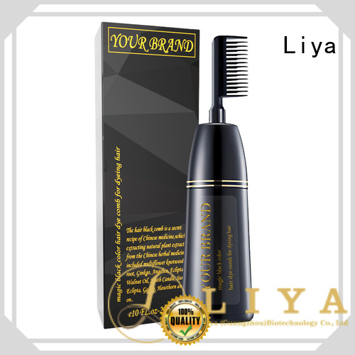 Liya semi permanent hair color widely employed for hair salon