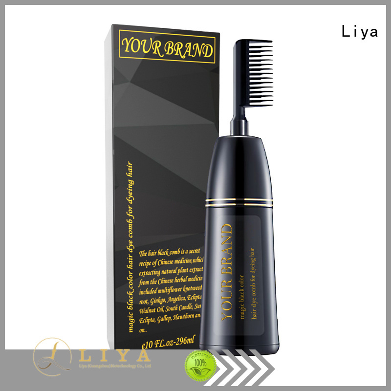 Liya convenient hair color products needed for hair stylist