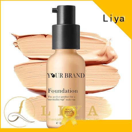 Liya hot selling liquid makeup lasting makeup