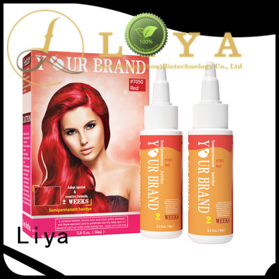 Liya good quality hair dye manufacturer satisfying for hair shop