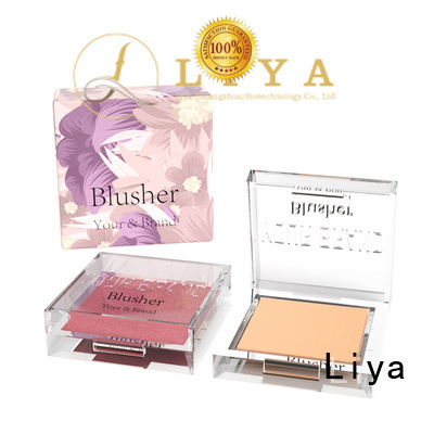 Liya easy to use blusher powder ideal for