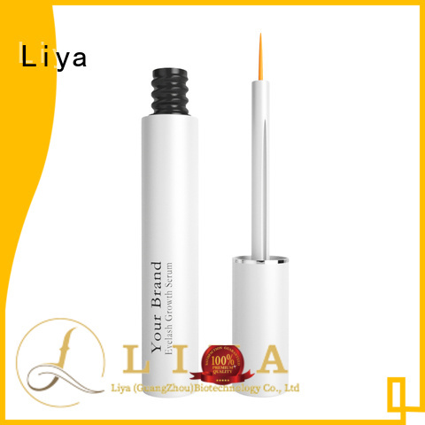 Liya good quality eyelash growth serum great for