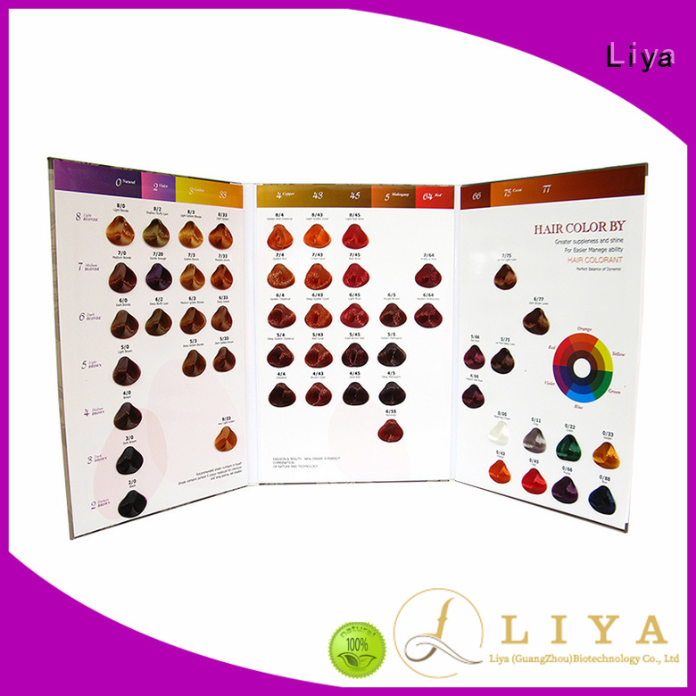 hair dye colors chart widely applied for hair salon
