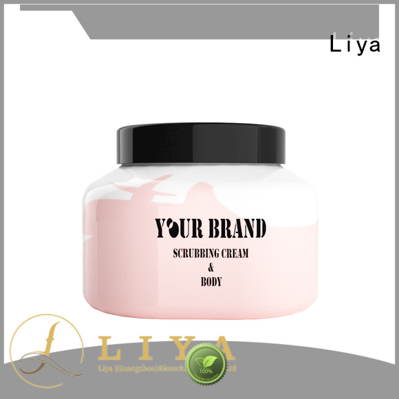 Liya economical body scrub supplier for anti wrinkle